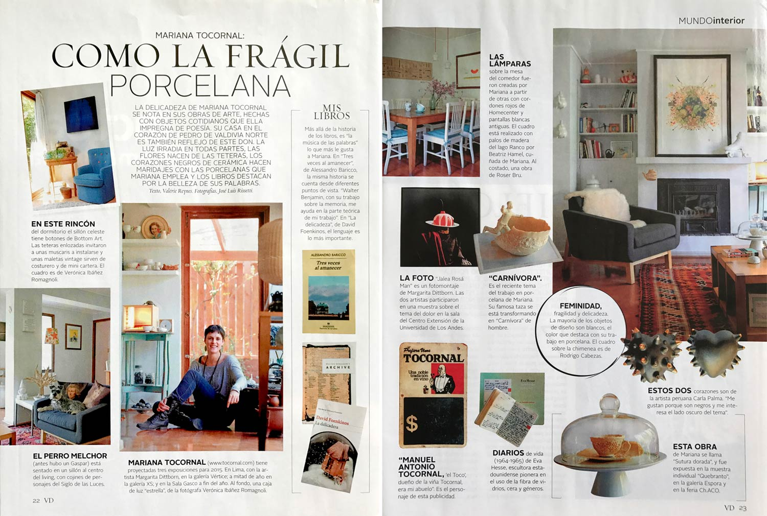 Revista vivienda y decoraci n mariana tocornal for Vivienda y decoracion online